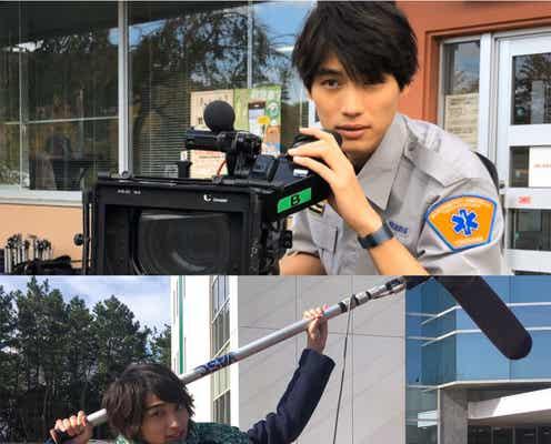 福士蒼汰&横浜流星、カメラマン・録音部になりきる<4分間のマリーゴールド>