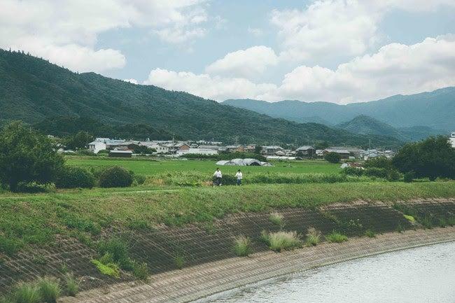 田畑に囲まれ大和の原風景が望める田原本町/画像提供:マルト
