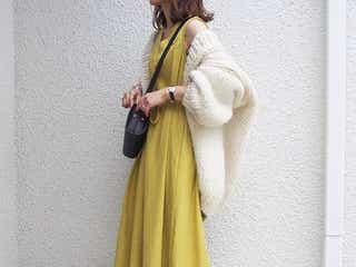 【GU・しまむら・titivate】羽織オンで秋まで着られる「プチプラ夏ワンピ」の活用コーデ