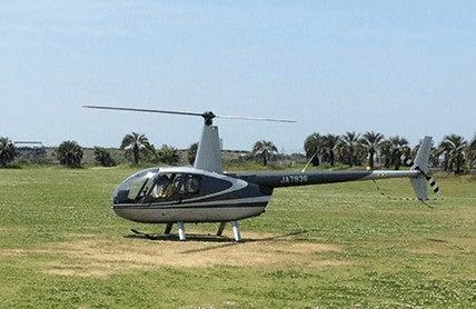 遊覧ヘリコプター/画像提供:ピーエスジェイコーポレーション