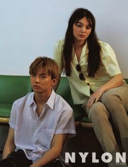 EXILE佐藤大樹、白シャツで胸元チラリ 「NYLON JAPAN」新連載に登場