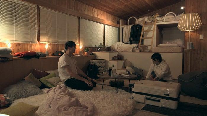 至恩、つば冴「TERRACE HOUSE OPENING NEW DOORS」20th WEEK(C)フジテレビ/イースト・エンタテインメント
