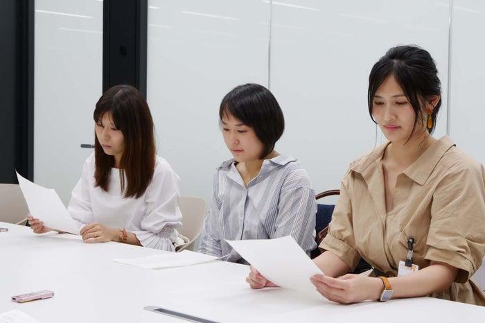 「Celebrate」ヒアリング会メンバー(左から)原川さん、河原林さん、井上さん