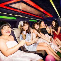 おかずクラブとリムジンパーティー(画像提供:主婦の友社)