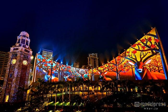 「香港パルス3Dライトショー」イメージ  /画像提供:香港政府観光局