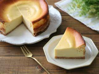 【牛乳消費応援レシピ】手作りカッテージチーズでつくる!ヘルシーなベイクドチーズケーキ