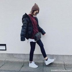 冬でもスタイルいいよね♡「着膨れしない秋冬ファッション」4つ