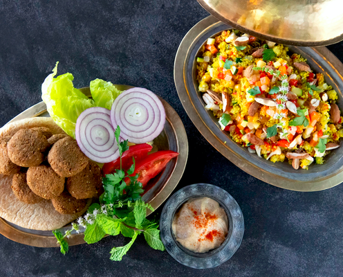 ハーブやスパイスで食欲増進!プロに教わるふたつの中東料理