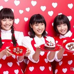 バレンタインの思い出を明かした(左から)松井愛莉、土屋太鳳、広瀬すず【モデルプレス】