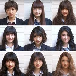 """""""日本一かわいい女子高生""""候補生、全員イメチェンに「まるで天使」「自分じゃない」と感激"""