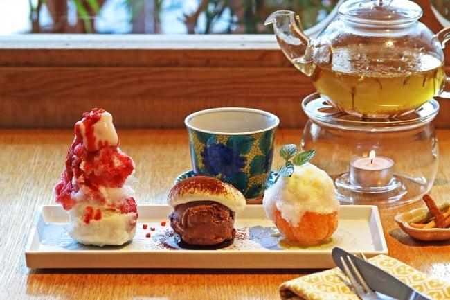 「こななのまあるい氷菓」1,200円(税抜)※選べるお茶・かりんとう付き/画像提供:ポトマック
