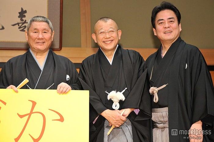 (左から)ビートたけし、笑福亭鶴瓶、立川談春(C)モデルプレス