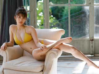 小倉優香、水着&ランジェリーで抜群スタイル セカンド写真集に「手応えは十分」