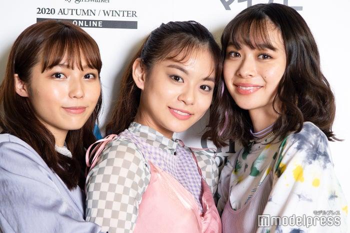 秋田汐梨、永瀬莉子、田鍋梨々花(C)モデルプレス
