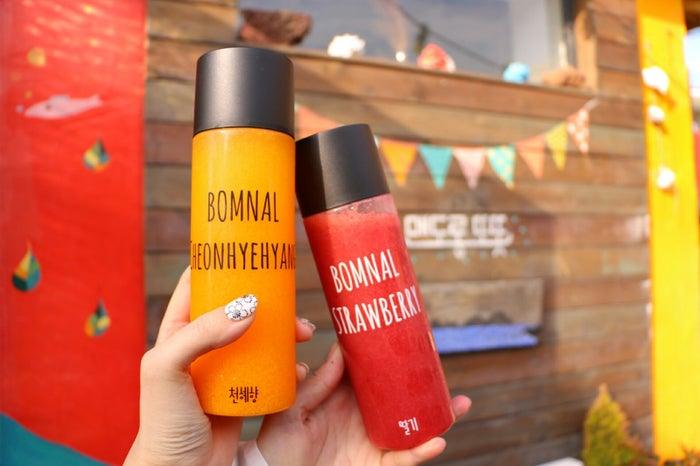 「ボムナル」のインスタジェニックなドリンク/画像提供:済州観光公社
