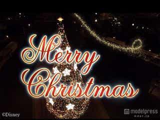 """ディズニーからのクリスマスプレゼント!""""彼女""""が見た幻想的な世界をお届け"""