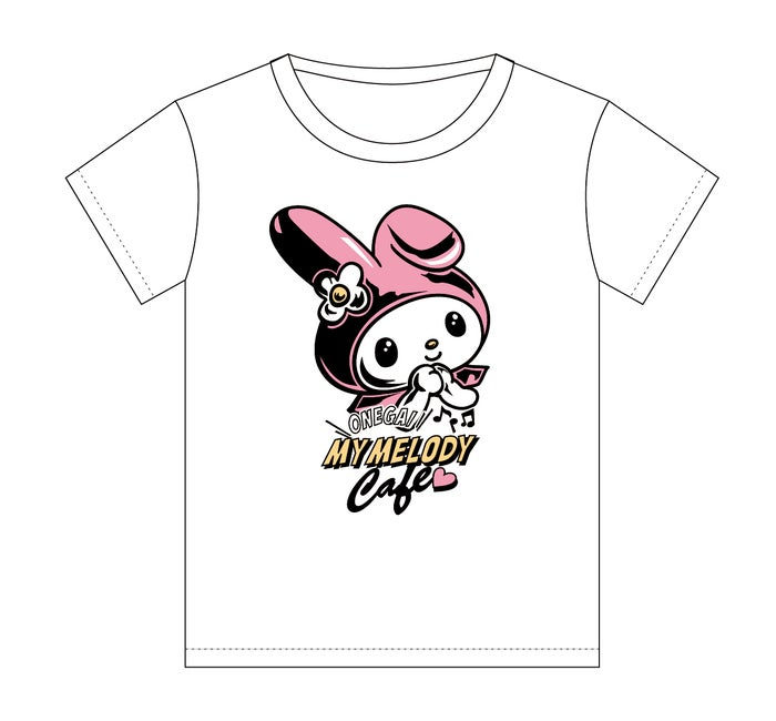 Tシャツ2,800円(税抜)(C)1976, 2005, 2018 SANRIO CO., LTD. APPROVAL NO.S592651