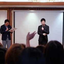(右)田中圭(提供写真)