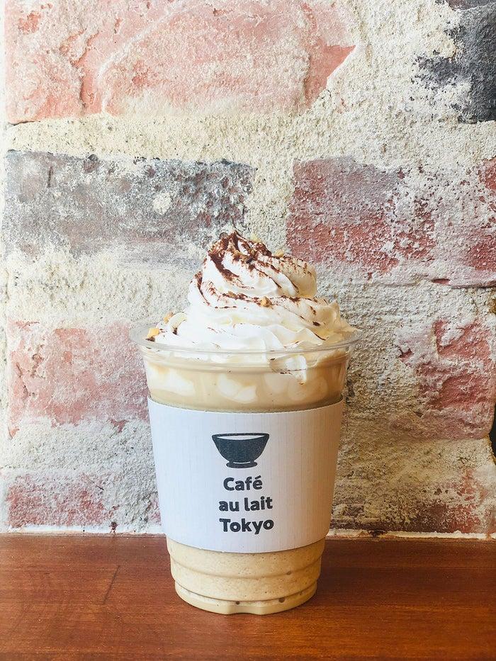 カフェオレ専門店「Cafe au lait TOKYO」オープン メニューは3種類のカフェオレのみ/画像提供:株式会社ドリームズ
