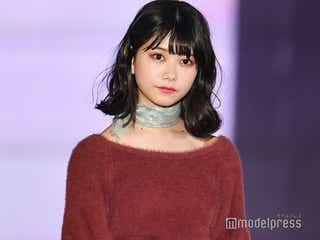 AKB48千葉恵里が初ランウェイ 秋メイク&大人コーデで雰囲気ガラリ<GirlsAward 2019 A/W>