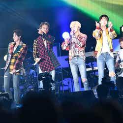 モデルプレス - WINNER、MINOの涙にファンもらい泣き 初生バンドで魅了<WINNER JAPAN TOUR 2019>