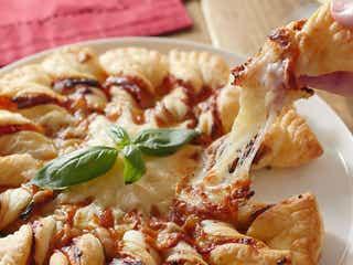 冷凍パイシートで簡単。ピザソレイユ