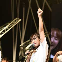 松村香織「SKE48 リクエストアワー セットリストベスト100 2018 ~メンバーの数だけ神曲はある~」15日夜公演より(C)AKS