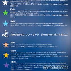 スキー・スノーボードのレッスンメニュー(C)モデルプレス