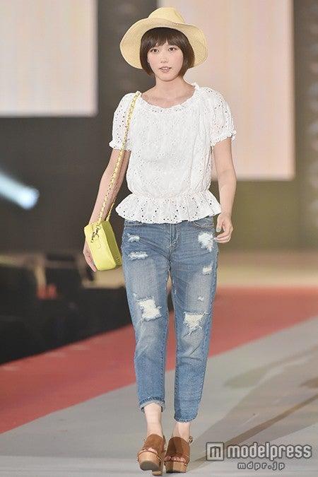 ファッション&音楽イベント「GirlsAward 2015 SPRING/SUMMER」に出演した本田翼【モデルプレス】