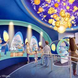 「ビッグポップ」の内観 (C)Disney