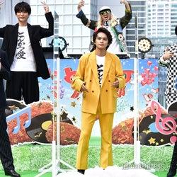 (前列左から)伊藤健太郎、北村匠海、山本舞香(後列左から)浅香航大、DJKOO、加藤諒 (C)モデルプレス
