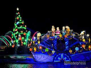 ディズニー・クリスマス、TDS「カラー・オブ・クリスマス」公演 今年でフィナーレ