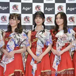 (左から)掛橋沙耶香、筒井あやめ、田村真佑 (C)モデルプレス