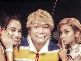 香取慎吾、水原希子&ローラとの3ショット公開に「豪華すぎる」「全員美しい」と反響集まる
