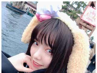 島崎遥香、彼女感溢れるディズニーショットに「可愛すぎ」「天使」の声