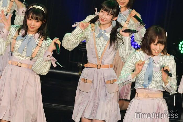奈良未遥、荻野由佳、西潟茉莉奈/NGT48「TOKYO IDOL FESTIVAL 2018」 (C)モデルプレス