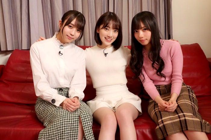 小林由依、堀未央奈、齊藤京子(C)NHK