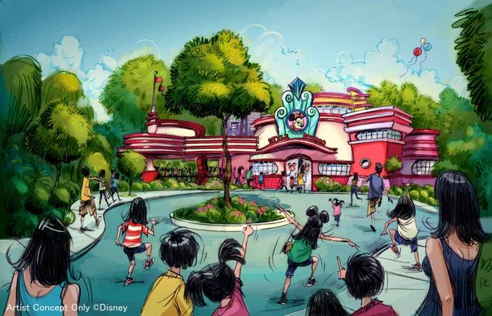 新キャラクターグリーティング施設※写真はイメージ(C)Disney