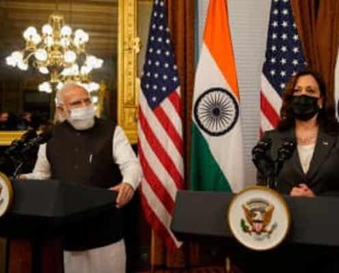 米副大統領、印首相と会談 自由で開かれたインド太平洋地域強調