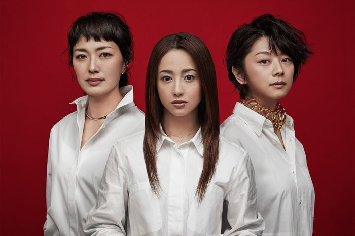 (左から)板谷由夏、沢尻エリカ、小池栄子の新ドラマ出演決定(C)日本テレビ