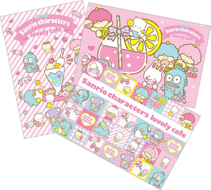 ポストカード3種類(C)1979, 1981,1982,1984,1985,2018 SANRIO CO., LTD. APPROVAL NO.S584281