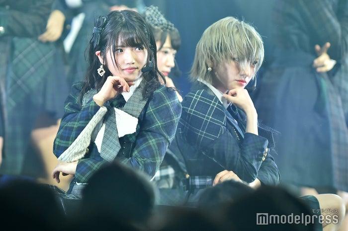 村山彩希、岡田奈々「AKB48 チーム4単独コンサート~友達ができた~」 (C)モデルプレス
