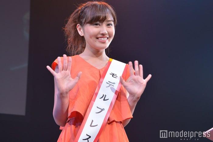 モデルプレス賞・審査員特別賞をW受賞、入澤優さん (C)モデルプレス