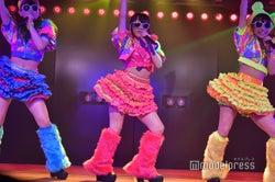 佐藤詩識・田口愛佳・安田叶「ツンデレ!」/AKB48柏木由紀「アイドル修業中」公演(C)モデルプレス
