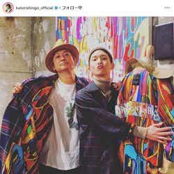 モデルプレス - 香取慎吾&SHINeeキー、日韓スター2ショットに驚きの声「なんて豪華な」