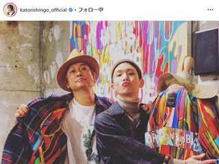 香取慎吾&SHINeeキー、日韓スター2ショットに驚きの声「なんて豪華な」