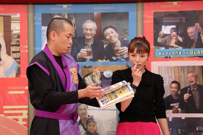 若槻千夏(右) (写真提供:中京テレビ)