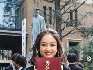 谷まりあ、早稲田大学卒業を報告 河北麻友子・吉岡里帆・新木優子らが祝福
