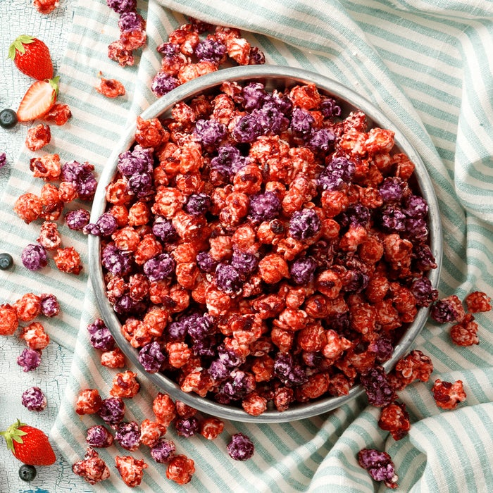 甘酸っぱい3種のベリーが融合/画像提供:ギャレット ポップコーン ショップス(R)