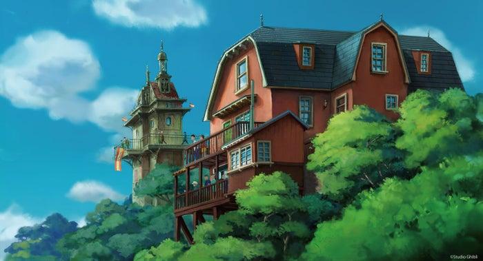 青春の丘エリア(C)Studio Ghibli